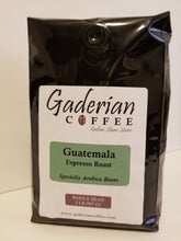 Load image into Gallery viewer, 32 oz bag Gaderian Coffee Espresso Roast Specialty Whole Bean