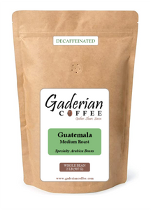 2 lb Specialty Grade Coffee (Case of 6 Bags), Guatemala - Decaf (Medium Roast), Whole Bean