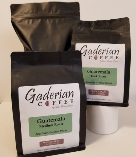 Group of Gaderian Coffee Whole Bean