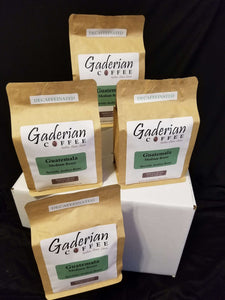 Group of Gaderian 12 oz Decaf Case