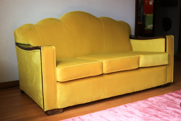 Recovered Art Deco Couch