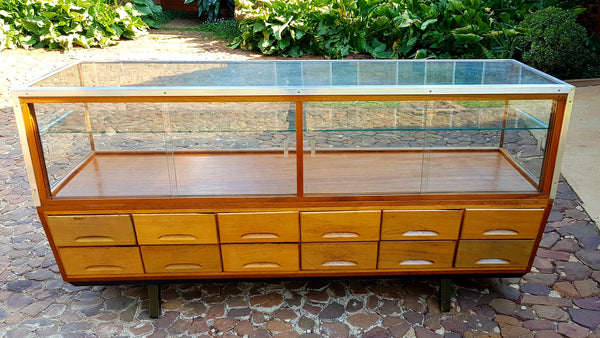 Haberdashery Display Cabinet