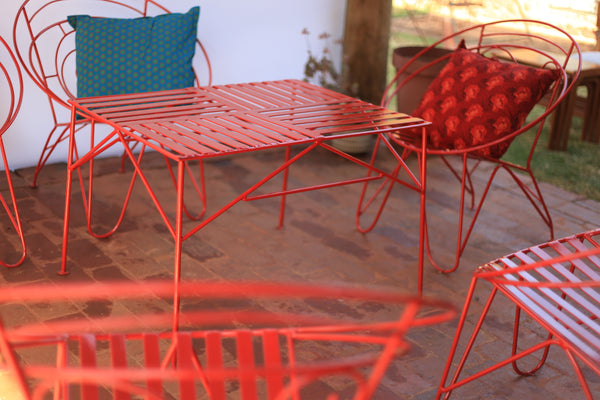 Vintage Steel Garden Furniture