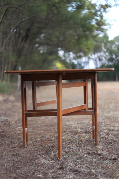 Teak Drop Leaf Table