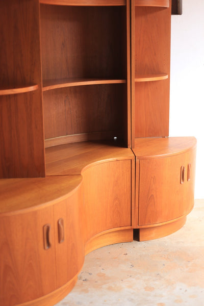 G Plan Teak Corner Wall Unit - UK, 1960's