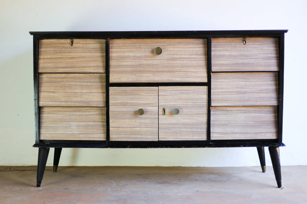 Panelyte Sideboard with Drinks Cabinet