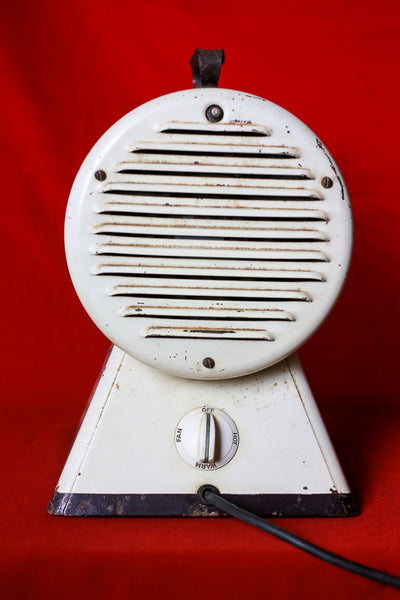 Vintage Space Heater and Fan