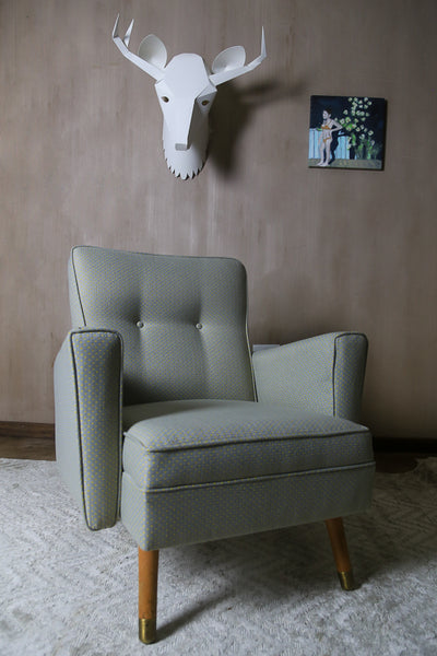 Mid Century Arm Chair and Settee