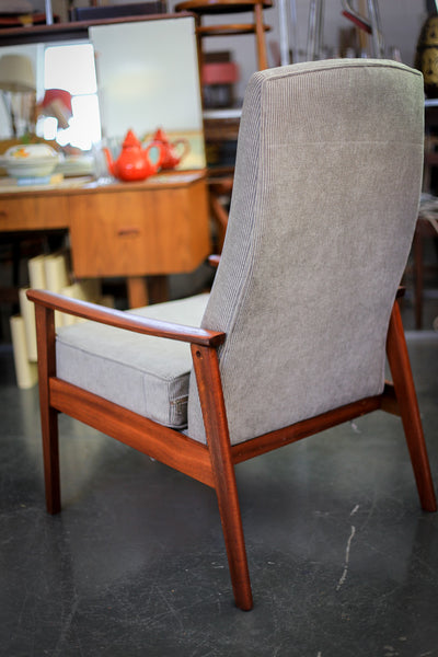 A 1960's Parker Knoll High Back Chair