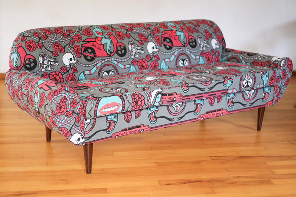 Julie Juu Meets the 1930's Couch