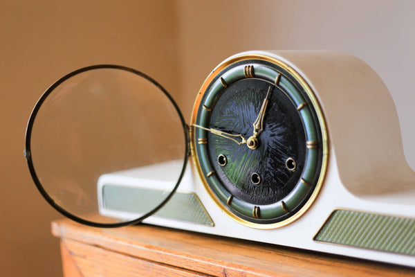 1930's Lauffer Chiming Mantel Clock