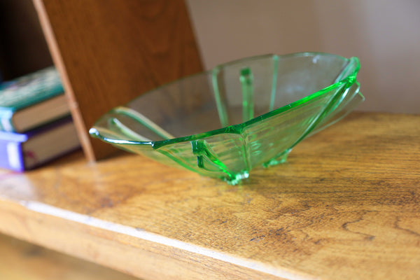 Art Deco Glass Bowl