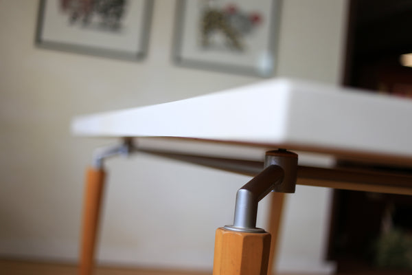Modern Dining Table with Spider Leg Base