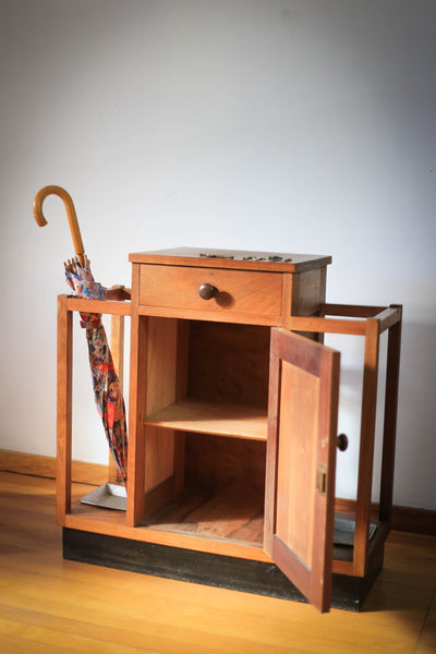 Solid Wood Umbrella Stand and Cabinet