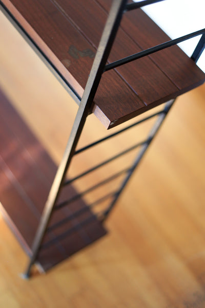 Steel and Solid Wood Shelf