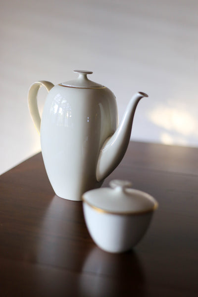 Vintage 'Rosenthal' Coffee Pot and Sugar Bowl