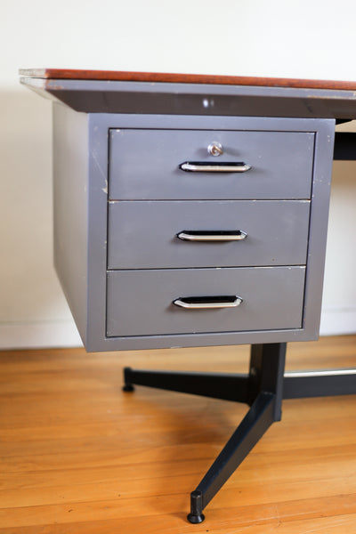 Modernist Steel Desk