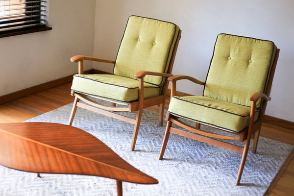 Two Upholstered Duros Chairs