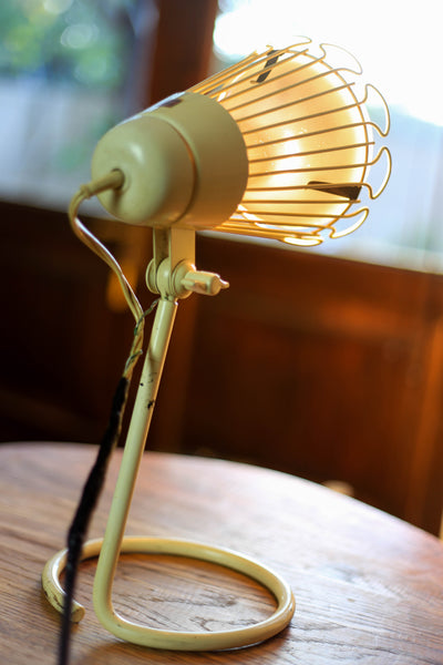 Mid Century Philips Desk Lamp and Globe