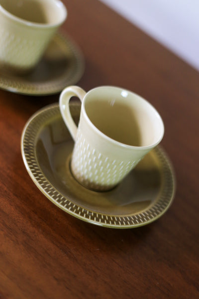 Vintage Stavangerflint Espresso Cups from Norway