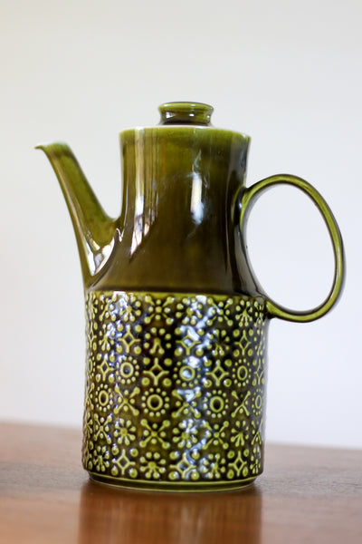 Vintage Irish Stoneware Coffee Pot