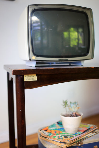 Mid Century Prestige TV Trolley