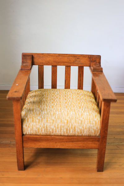 Vintage Oak Morris Type Chair