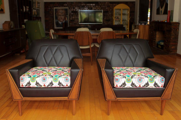 Refurbished 1960's Airflex Lounge Set