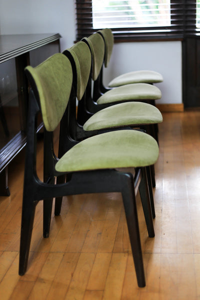 Four Rare 1950's GPlan Butterfly Chairs