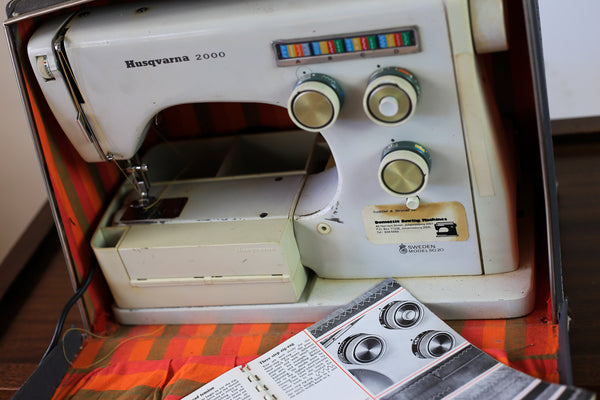 Vintage Husqverna Sewing Machine