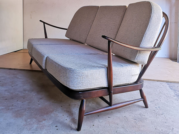 Ercol Windsor Sofa and Armchairs - UK, 1950's