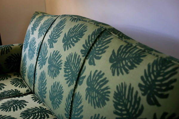 Vintage Upholstered Couch