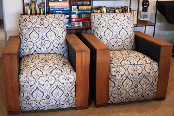 Two Art Deco Couches