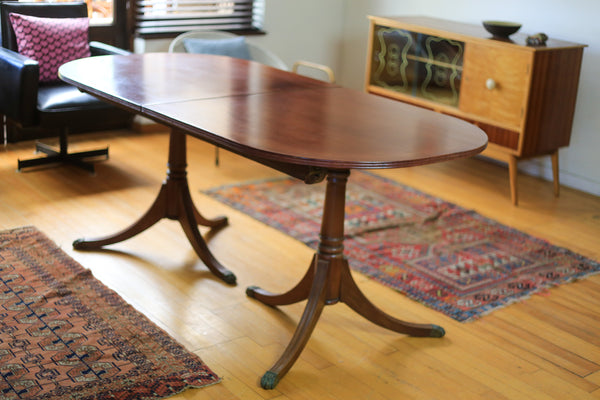 Oval Regency Dining Table