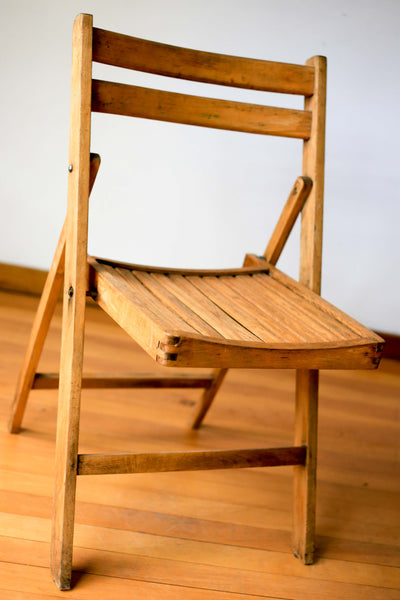 Unrestored Antique Folding Chair