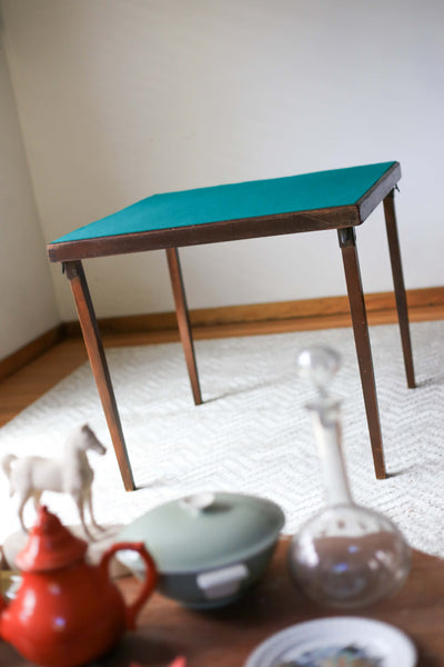 Antique Collapsible Card Table