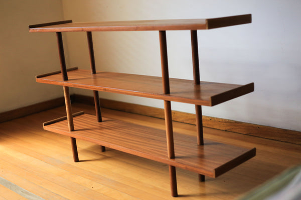 Three Tier Mid Century Shelf