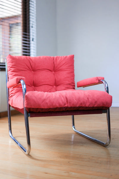 1970's Cantilever Sling Chairs - priced individually