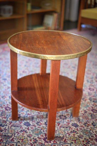 Solid Wood Lamp Table