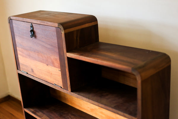 Heirloom Dark Wood Shelf