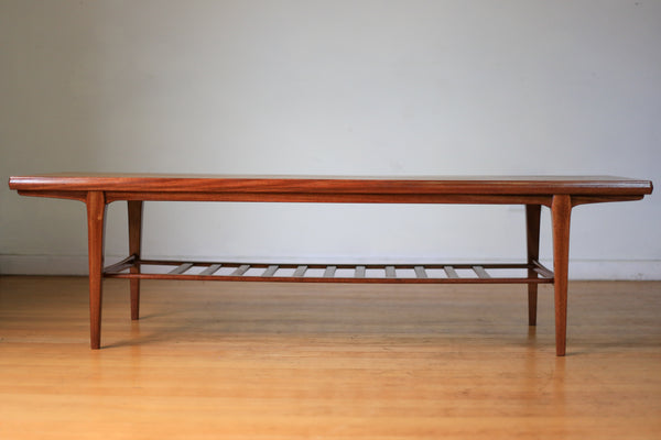 Long Mid-century Modern Coffee Table