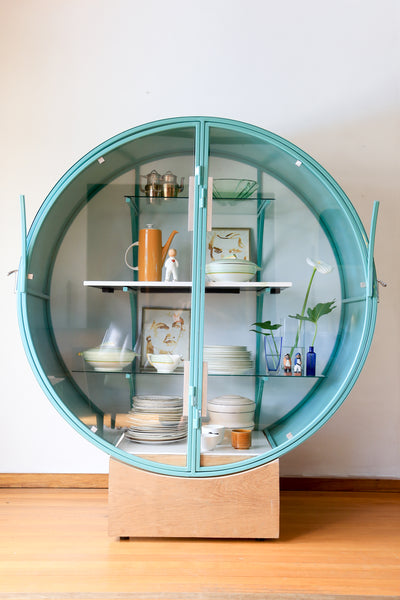 Modern Art Deco Display Cabinet - made to order