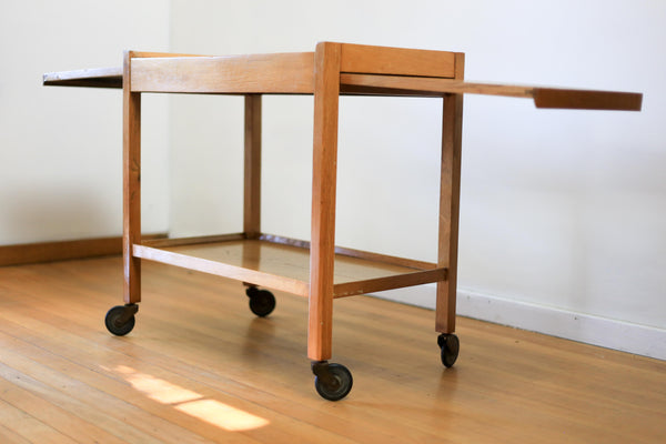 Mid Century Extendable Drinks Trolley