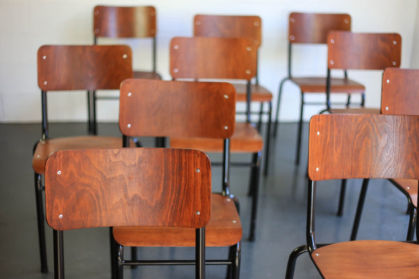 Refurbished Vintage School Chairs