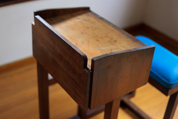 Unique Vintage School Desk