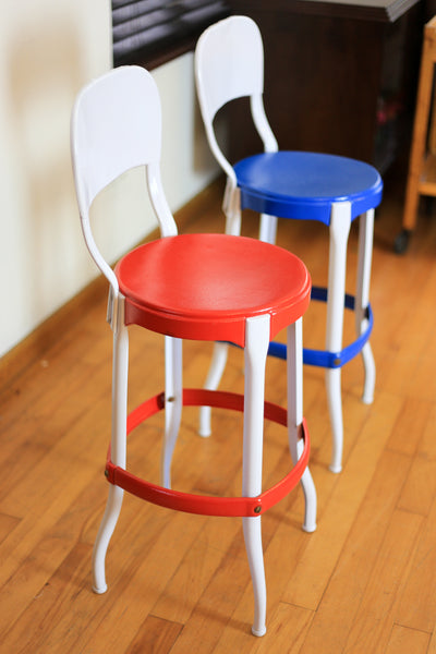 Mid Century High Chairs by Cosco USA