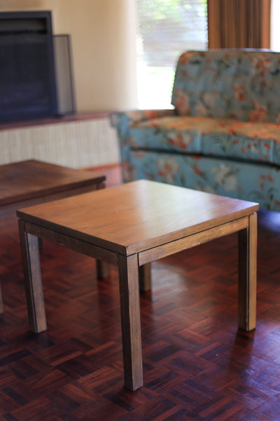 Two Modernist Occasional Tables