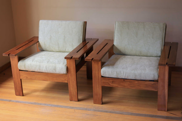 Two 1970's Morris Type Chairs