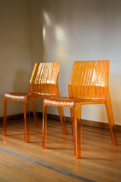 A Pair of Kartell Frilly Chairs