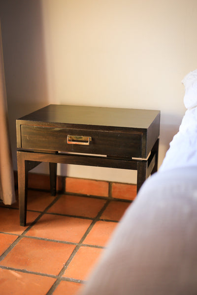 Two Modernist Bedside Pedestals